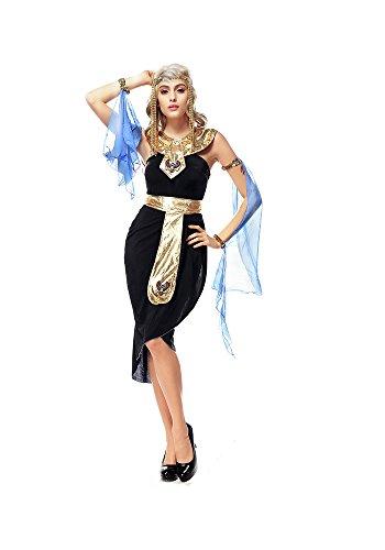 Egyptian Gods And Goddesses Halloween Costumes (PINSE Woman Halloween Egyptian Goddess Costume)