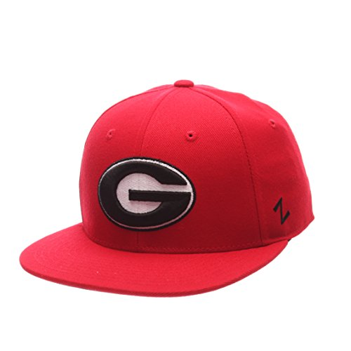 NCAA Georgia Bulldogs Men's M15 Fitted Hat, Red, Size 7 3/8