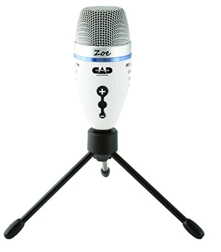 CAD Audio ZOE - USB Condenser Recording Microphone with TrakMix Headphone Output by CAD Audio