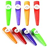 Fudirect Store Plastic Kazoo Music Maker Assorted Colours Pack of 6