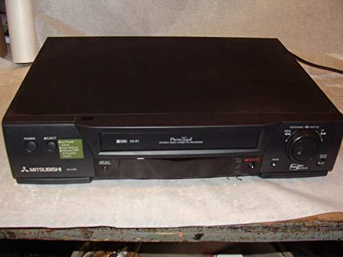 Mitsubishi HS-U780 S-VHS VCR/19 Micron 4 Head/HI-FI Audio/•250X FF/Rewind speed/•DSS control•MTS/SAP reception