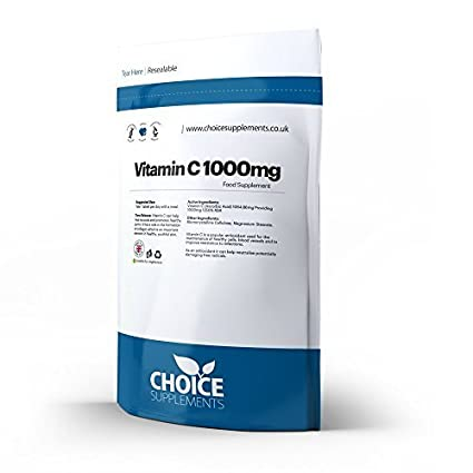Vitamina C 1000mg Liberación Prolongada PASTILLAS - 30 Tablets Foil Bag