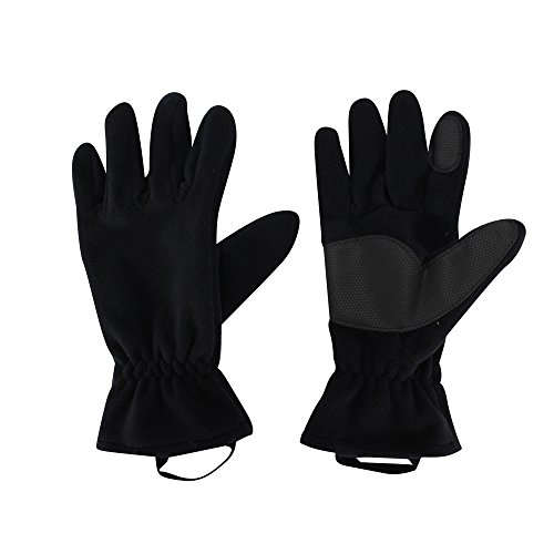 Fly Men and Women Autumn and Winter Outdoor Polyester Cotton Gloves, Climbing/Cycling Warm Gloves