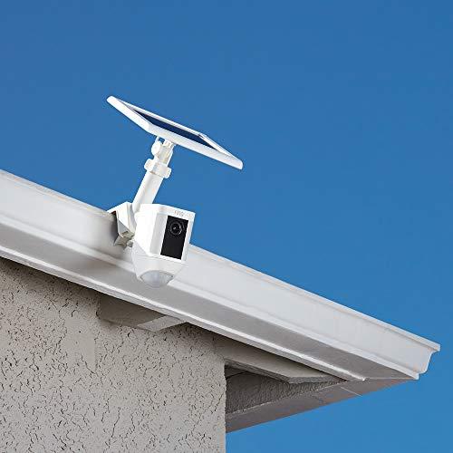 Ring Gutter Mount for Ring Spotlight Cam Battery and Solar Panel