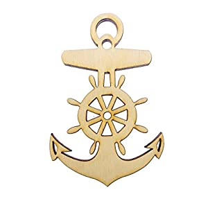 41Cx4DQ5MKL._SS300_ 75+ Anchor Christmas Ornaments