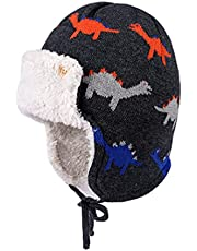 Petit Lion Winter Baby Hat Warm Beanies for Boys Girls Infant Toddler Baby Pilot Hat