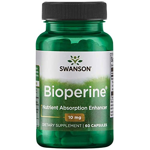 Cheap Swanson Bioperine Nutrient Absorption Enhancer 10 Milligrams 60 Capsules