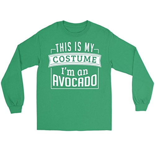 Funny Last Minute Costume Ideas (Last Minute Costume Ideas: This Is My Costume I'm An Avocado, Small)