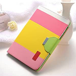 "Korean Style Colorful Flip Leather Case For Ipad Mini 2 Retina 7.9"" Smart Leather Cover With Card Holder No 1-NO 1"