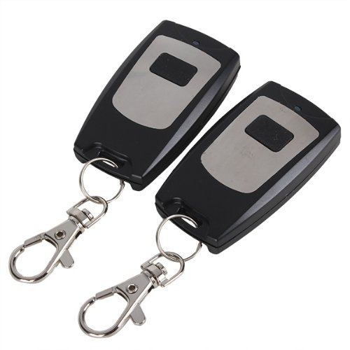 Price comparison product image BQLZR Chip 1527 433MHz 1 Ch RF Wireless Remote Control Garage Door Keyless Entry Pack Of 2