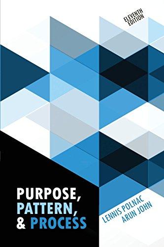 Purpose, Pattern, and Process