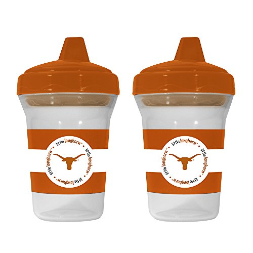 Baby Fanatic NCAA Sippy Cup - University of Texas - 2 Pack Sippy Cup