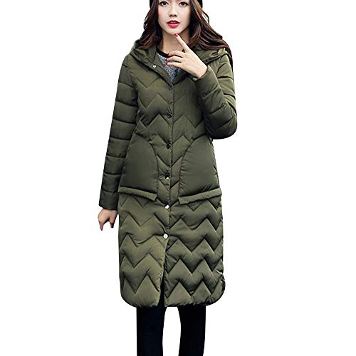 GOVOW Ski Coats with Hooded for Women Winter Sale Collar Long Jackets Warm Thicken Padded Hooded Coat – DiZiSports Store