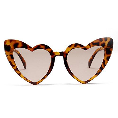 coeur de mioim lentille et Lunettes Lunettes pour de Fashion femme soleil Modernes multicolore carrées Polarisées peach UV400 Réfléchissantes Beige forme en homme r8BExP8qw