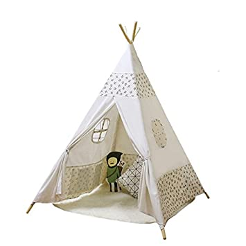 ACTNOW Kids Teepee Tent Indian Play Tent Childrenu0027s Playhouse for Outdoor and Indoor Play 120*  sc 1 st  Amazon UK & ACTNOW Kids Teepee Tent Indian Play Tent Childrenu0027s Playhouse for ...