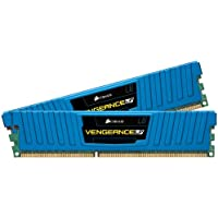 Corsair CML8GX3M2A1600C9B Vengeance Blue 8GB (2x4GB) DDR3 1600 MHz (PC3 12800) Desktop Memory 1.5V