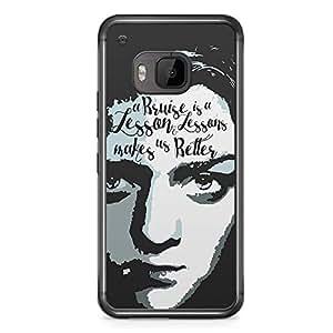Game of thrones HTC One M9 Transparent Edge Case - Arya Stark