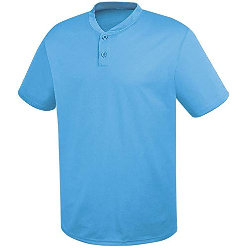 HighFive Adult Two-Button Essortex Jersey Columbia Blue ()