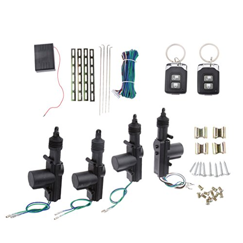 [해외]Gazechimp 키 없이 항목 키트 자동차 용 원격 제어 중앙 잠금 보안 시스템 / gazechimp keyless entry kit automotive remote control central lock security system
