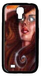 Phoenix Girl Polycarbonate Hard Case Cover for Samsung Galaxy S4/Samsung Galaxy I9500 Black