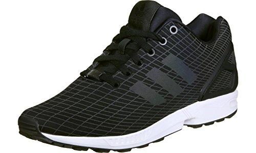 ZX white black 0 10 Schuhe Flux adidas 0nAqBq