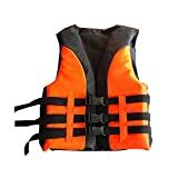 GUFAN Children Kids Swim Jacket Vest Swimming Training Aid-5-12 Years Old - clolor green (Orange, M)
