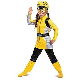 Disguise Yellow Ranger Beast Morphers Toddler Costume