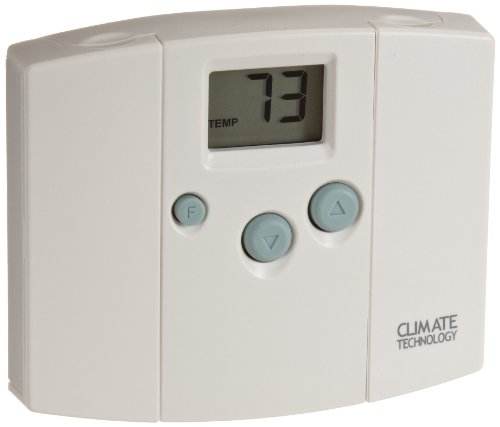 Cool Wall Thermostat (Supco 43054 Electronic Digital Wall Thermostats with Blue Back Light, 45 to 95 Degree F, 20-30 VAC)