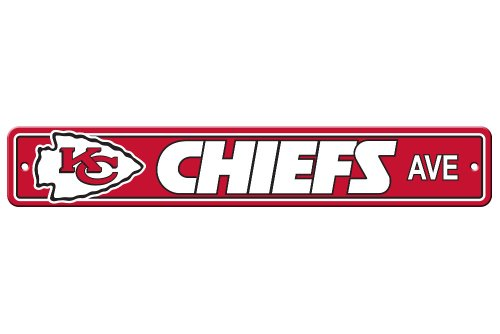 Signs Of The City (NFL Kansas City Chiefs Plastic Street Sign)