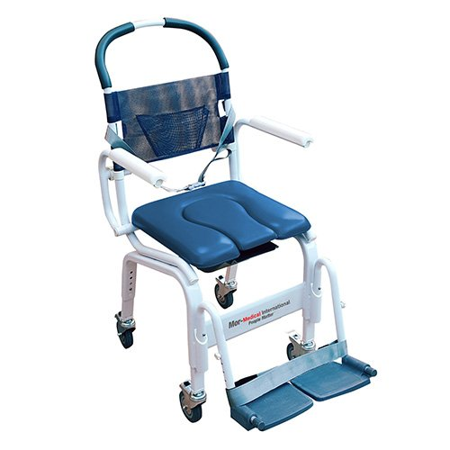 Mor Medical International Euro Shower Commode Chair (18 Inch Shower Chair)