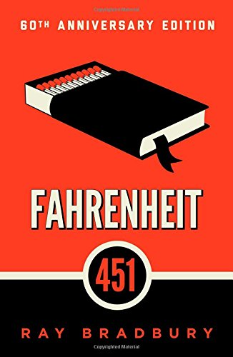 Book cover for Fahrenheit 451