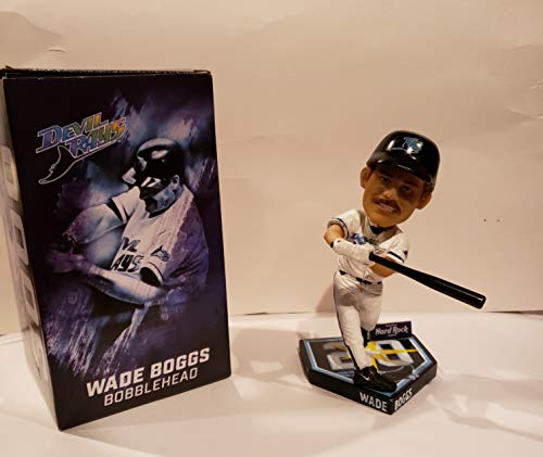 (WADE BOGGS BOBBLE HEAD - DEVIL RAYS - 3,000TH HIT)