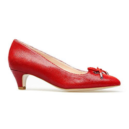 Van Dal Women's Pye Closed-Toe Heels Holly Red qbiAl43atl