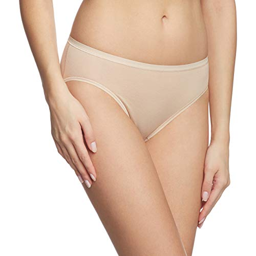 "Calida ""Comfort Cotton-Rich Hipster Briefs (24526) (Small (40), Nude)"
