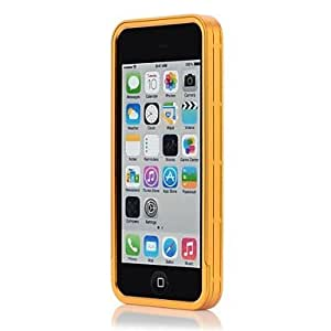 DUR Superior Metal Protective Case for iphone 5C (Assorted Colors) , Golden