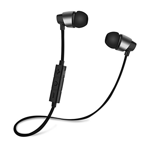 A/v Cable Model (Seternaly Wireless Headphones Bluetooth 4.2 Earphone In-Ear Earbuds with Built in Mic Black (with Carabiner))