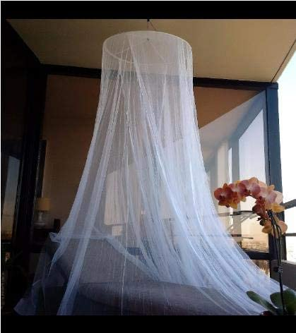Sasonco Mosquito Net Canopy Dome Mosquito Bed Canopy Curtains Easy to Carry /& Setup with Free Hanging Kit,Travel Bag and Canopy for Single to King Size Beds,for Home and Travel