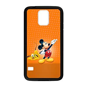 Fayruz- Personzlized Mikey Mouse Premium Textured TPU Rubber Gel Samsung Galaxy S5 Case Cover Skin S-S5G222