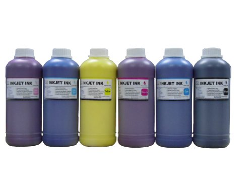 ND ™ Brand Dinsink: 6 Pint Premium UV Pigment Refill Ink kit (BK/C/M/Y/LC/LM) for HP DesignJet 5000 Series. 5000 UV. 5000ps UV. 5500 UV. 5500PS UV. HP 83 cartridge and CISS. The item with ND Logo! (5500ps Ink Uv)