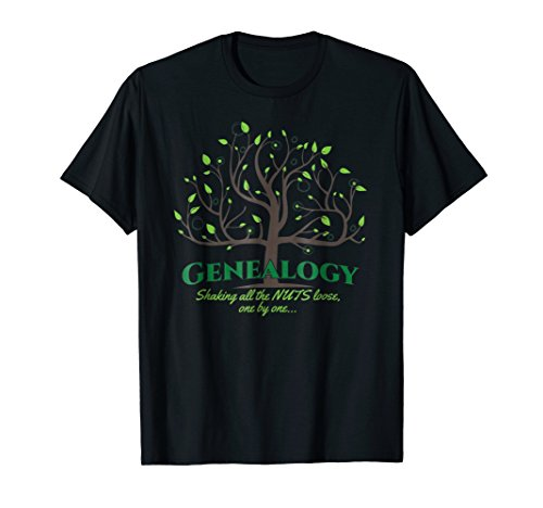 Genealogy, shaking all the nuts loose, one by one | shirt