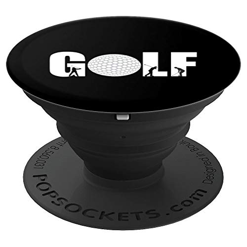 Golf Apparel I Golfer Silhouettes I Golf PopSockets Grip and Stand for Phones and Tablets