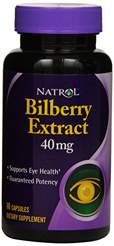 Natrol Bilberry Capsules 40mg Count