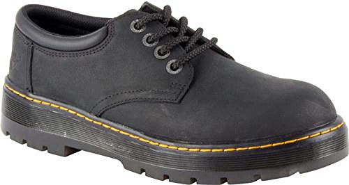 (Dr. Martens Work Men's Bolt ST Black Wyoming/Black Pu UK 9 (US Mens 10, US Womens 11) D (M))