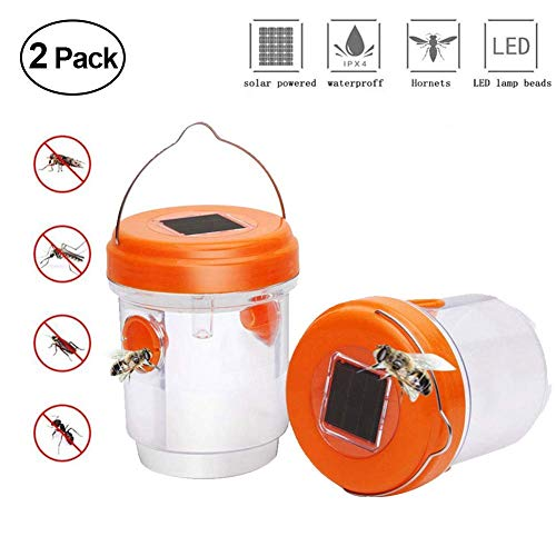 Bilimall Wasp Trap Outdoor Bee Catcher Solar