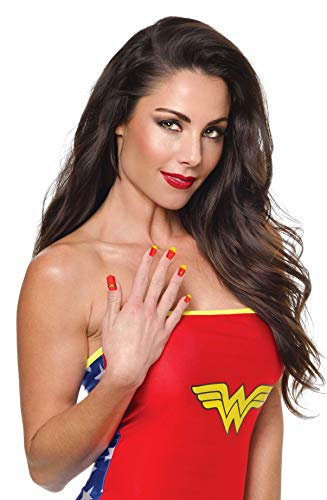 Rubies DC Comics Wonder Woman Nail Art Strips]()