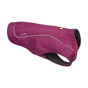 Ruffwear - K-9 Overcoat, Abrasion-Resistant Insulated Jacket for Dogs, Larkspur Purple, X-Small