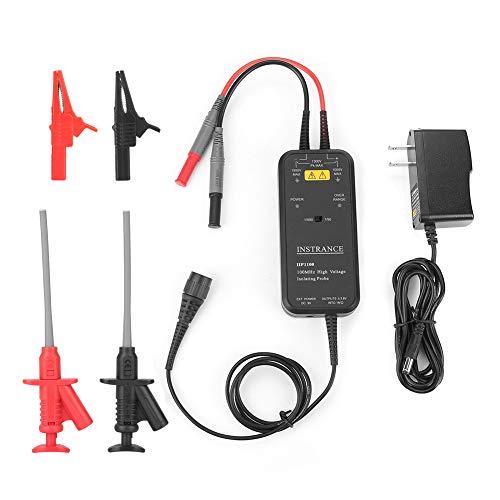 オシロスコーププローブ、IIP1100 AC100-240V 100MHz高電圧差動絶縁オシロスコーププローブ電気技師キット絶縁プローブ(米国プラグ)