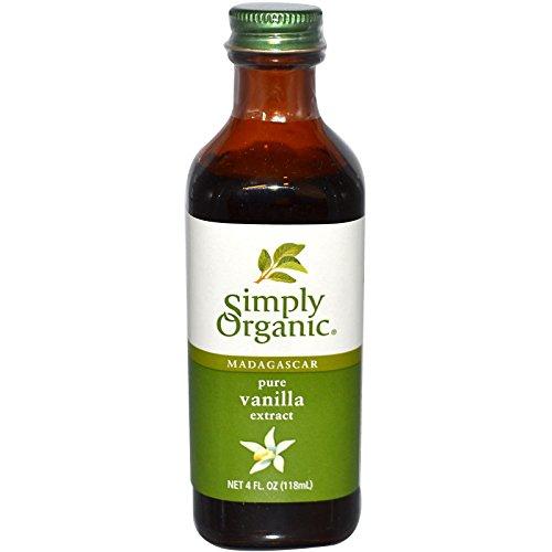 Simply Organic, Madagascar Pure Vanilla Extract, 4 fl oz (118 ml) - 2pcs