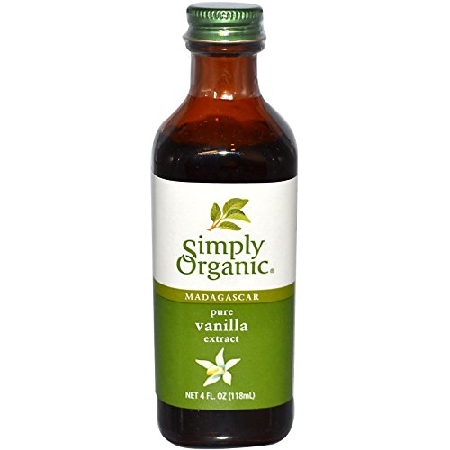Simply Organic, Madagascar Pure Vanilla Extract, 4 fl oz (118 ml) - 2pcs (Vanilla Extract Pure Organic)