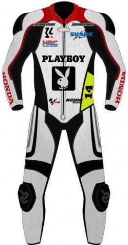 Honda Moto Traje Piel Moto Racing Traje a medida Custom Made ...